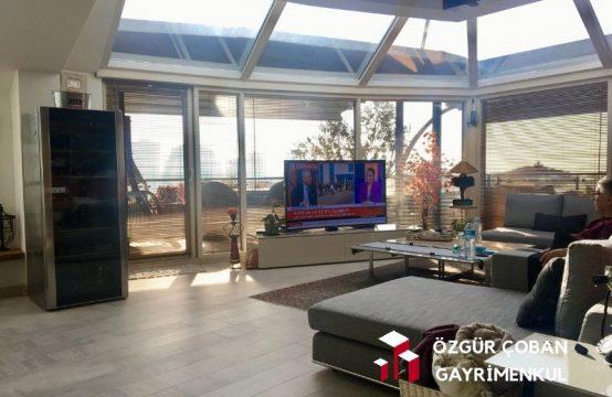 Akasya Acıbadem 5+1 Satılık Residence –  muhteşem penthouse (5bedroom)