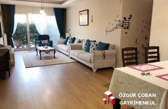 My Home 3+1 Satılık &#8211&#x3B; eşyaları ile satılık bahçe katı (3bedroom)
