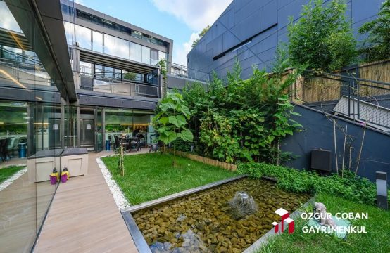 Zekeriyaköy Terrace Plus'ta Satılık Triplex 3.5+1 Villa