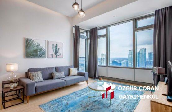 İstanbul Sarıyer Maslak 1+1 Aylık Kiralık Residence &#8211&#x3B; Istanbul Short Term Rental