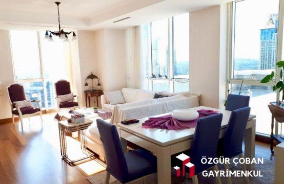 Mashattan 3+1 Satılık Daire – muhteşem 120m2 teras (3bedroom, 120m2 terrace)