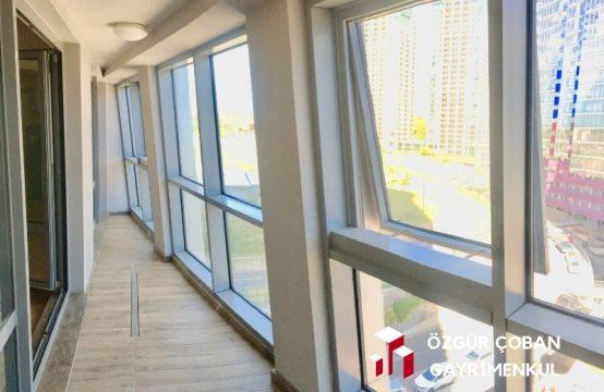 Maslak 1453 1+1 Satılık – büyük tip 98m2, kapalı balkon (1bedroom)
