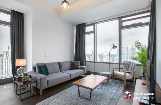 İstanbul Sarıyer Maslak 2+1 Aylık Kiralık Residence &#8211&#x3B; Istanbul Short Term Rental