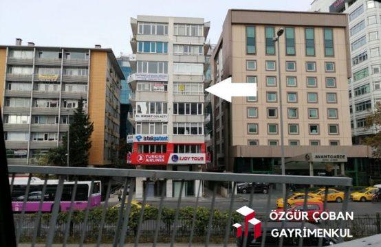 Zincirlikuyu Büyükdere – Cadde Üstü Tabela Değeri Yüksek – 100m2