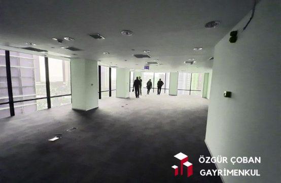 Levent Büyükdere – A Sınıfı Plazada Yarım Kat – 285m2