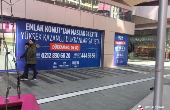 Ağaoğlu 1453 – Caddede Kiralık Mağaza – 450m2