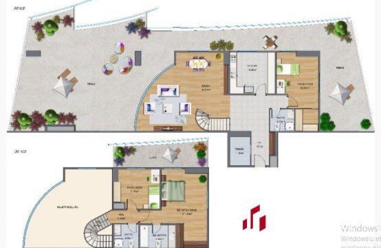 Maslak 1453 3+1 Satılık – 40.kat, Loft, Dublex (3bedroom)