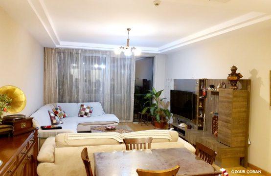 Vadi Istanbul Teras 2+1 Satılık – açık mutfak, orman manzaralı (2bedroom)