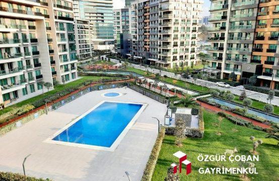 Vadi Istanbul Park 3.5+1 Satılık – Sıfır, nefis havuz manzaralı (3,5bedroom)